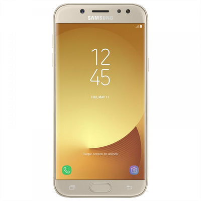 Samsung Galaxy J5 Pro (2017, 16GB, Dual Sim, Gold, Local Stock)-Smartphones (New)-Connected Devices