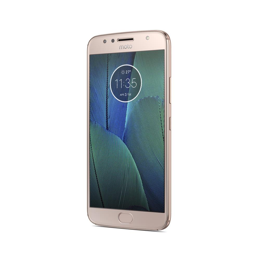 Motorola Moto G5S Plus (3GB ROM, 32GB, Blush Gold, Special Import)
