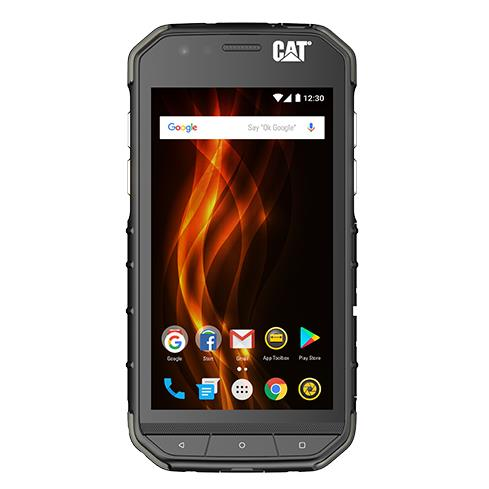 CAT S31 (Pre-Owned, Dual Sim, 16GB, 2GB RAM, Black, Special Import)-Smartphones (Open Box)-Connected Devices