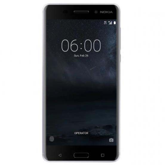 Nokia 6 (32GB, Single Sim, Silver, Local Stock)