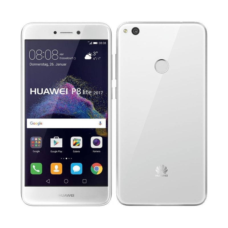 Huawei P8 Lite (2017, White, Single Sim, Local Stock)-Smartphones (New)-Connected Devices