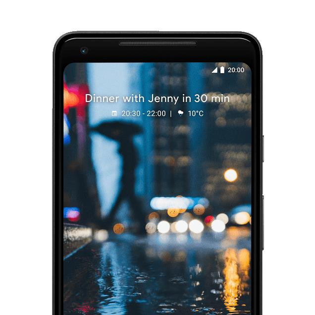 Google Pixel 2 XL (64GB, Black & White, Special Import)