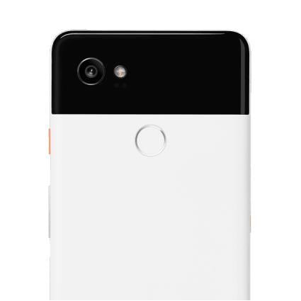 Google Pixel 2 XL (128GB, Black & White, Special Import)