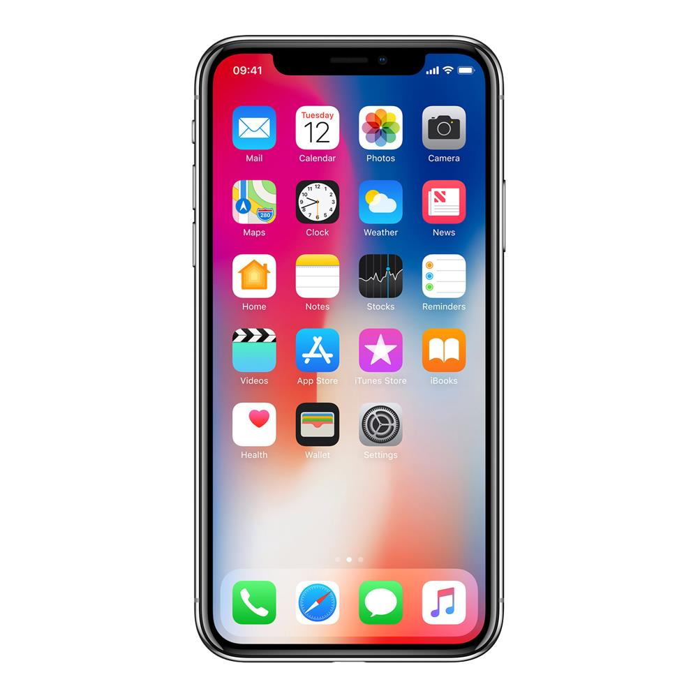 Apple iPhone X (256GB, Silver, Special Import)-Smartphones (New)-Connected Devices