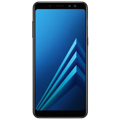 Samsung Galaxy A8 (2018, Dual Sim, 32GB, Black, Special Import)-Smartphones (New)-Connected Devices