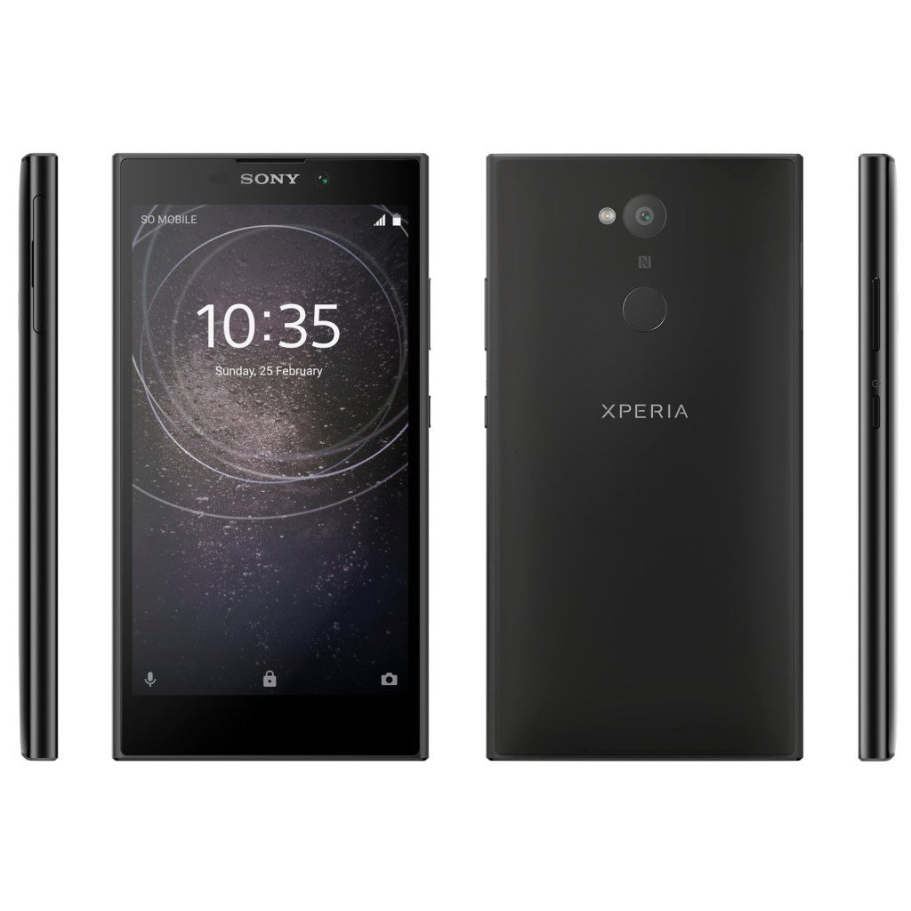 Sony Xperia L2 (32GB, Black, Special Import)