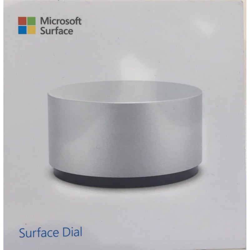 Microsoft Surface Dial (Silver, Special Import)-Tablet Accessories-Connected Devices