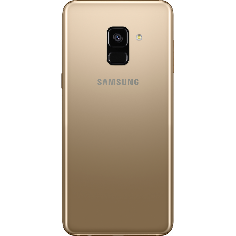 samsung galaxy a8 2018 dual sim 32gb gold special import. Black Bedroom Furniture Sets. Home Design Ideas