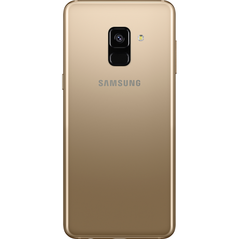 Samsung Galaxy A8 (2018, Dual Sim, 32GB, Gold, Special Import)-Smartphones (New)-Connected Devices