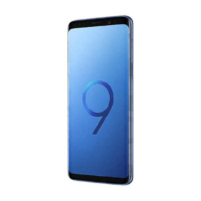 Samsung Galaxy S9 Plus (Dual Sim, 64GB, Coral Blue, Special Import)-Smartphones (New)-Connected Devices