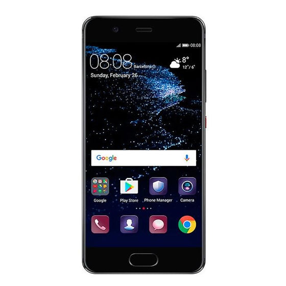 Huawei P10 Plus (Dual Sim, 128GB, Graphite Black, Local Stock, Open Box)