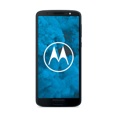 Motorola Moto G6 (32GB, Dual Sim, Blue, Special Import)-Smartphones (New)-Connected Devices