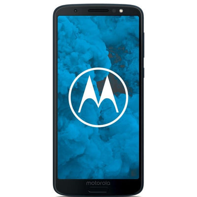 Motorola Moto G6 (Pre-Owned, 32GB, Dual Sim, Deep Indigo, Special Import)-Smartphones (Open Box)-Connected Devices