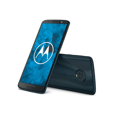 Motorola Moto G6 (32GB, Deep Indigo, Special Import)-Smartphones (New)-Connected Devices