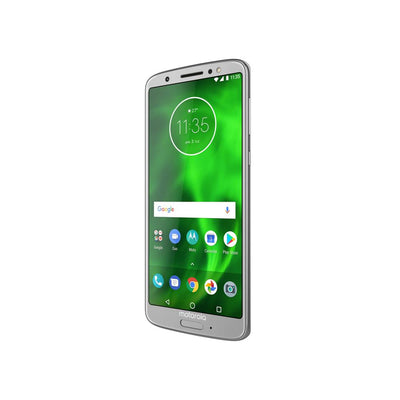Motorola Moto G6 (32GB, Silver, Special Import)-Smartphones (New)-Connected Devices