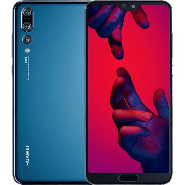 Huawei P20 Pro (128GB, Dual Sim, Blue, Special Import)-Smartphones (New)-Connected Devices