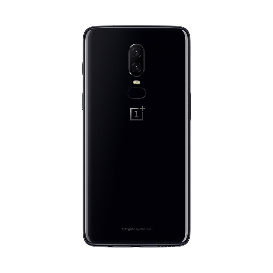 OnePlus 6 (64GB, Dual Sim, Mirror Black, Special Import)