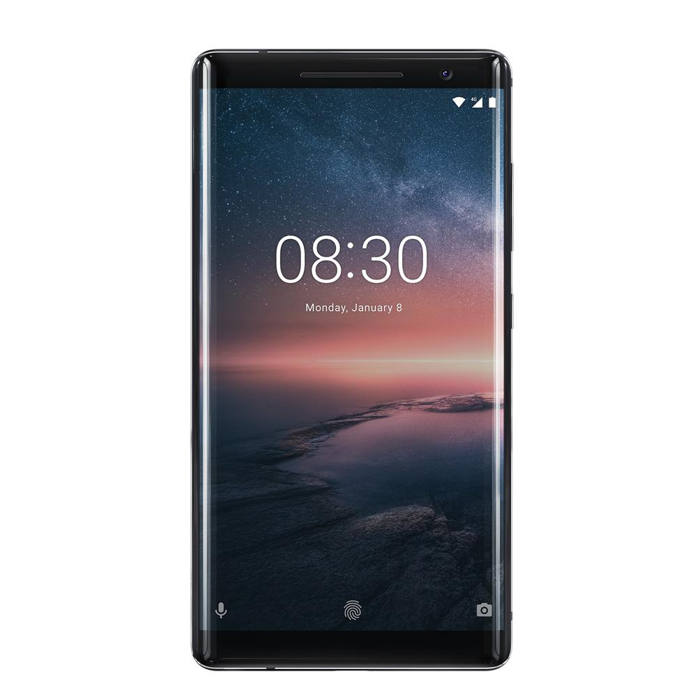 Nokia 8 Sirocco (2018, 128GB, Black, Special Import)