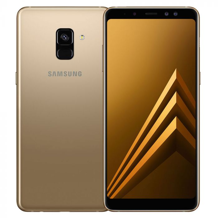 Samsung Galaxy A8 Plus (2018, Dual Sim, 64GB, Gold, Special Import)
