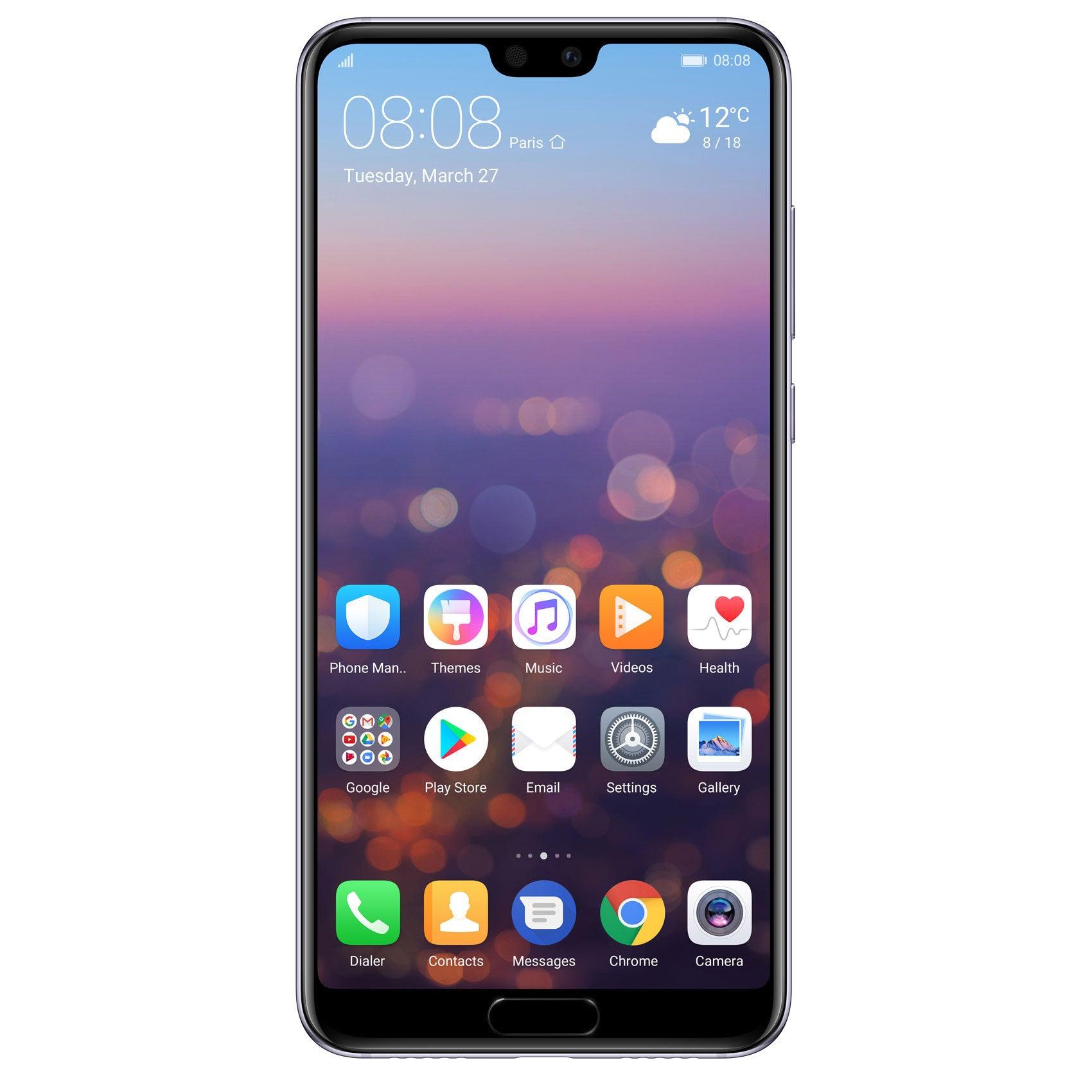 Huawei P20 Pro (128GB, Dual Sim, Twilight, Special Import)-Smartphones (New)-Connected Devices