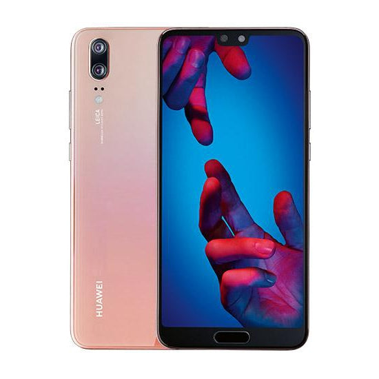 Huawei P20 (128GB, Pink, Dual Sim, Special Import)