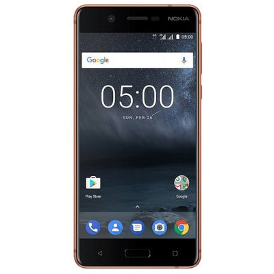 Nokia 5 (16GB /2GB RAM, Copper, Dual Sim, Special Import)-Smartphones (New)-Connected Devices