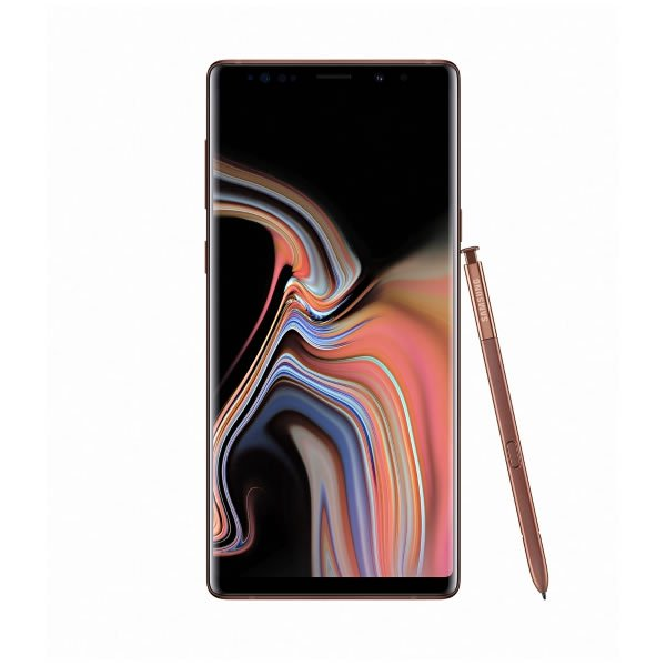 Samsung Galaxy Note 9 (128GB, Single Sim, Metallic Copper, Local Stock)-Smartphones (New)-Connected Devices