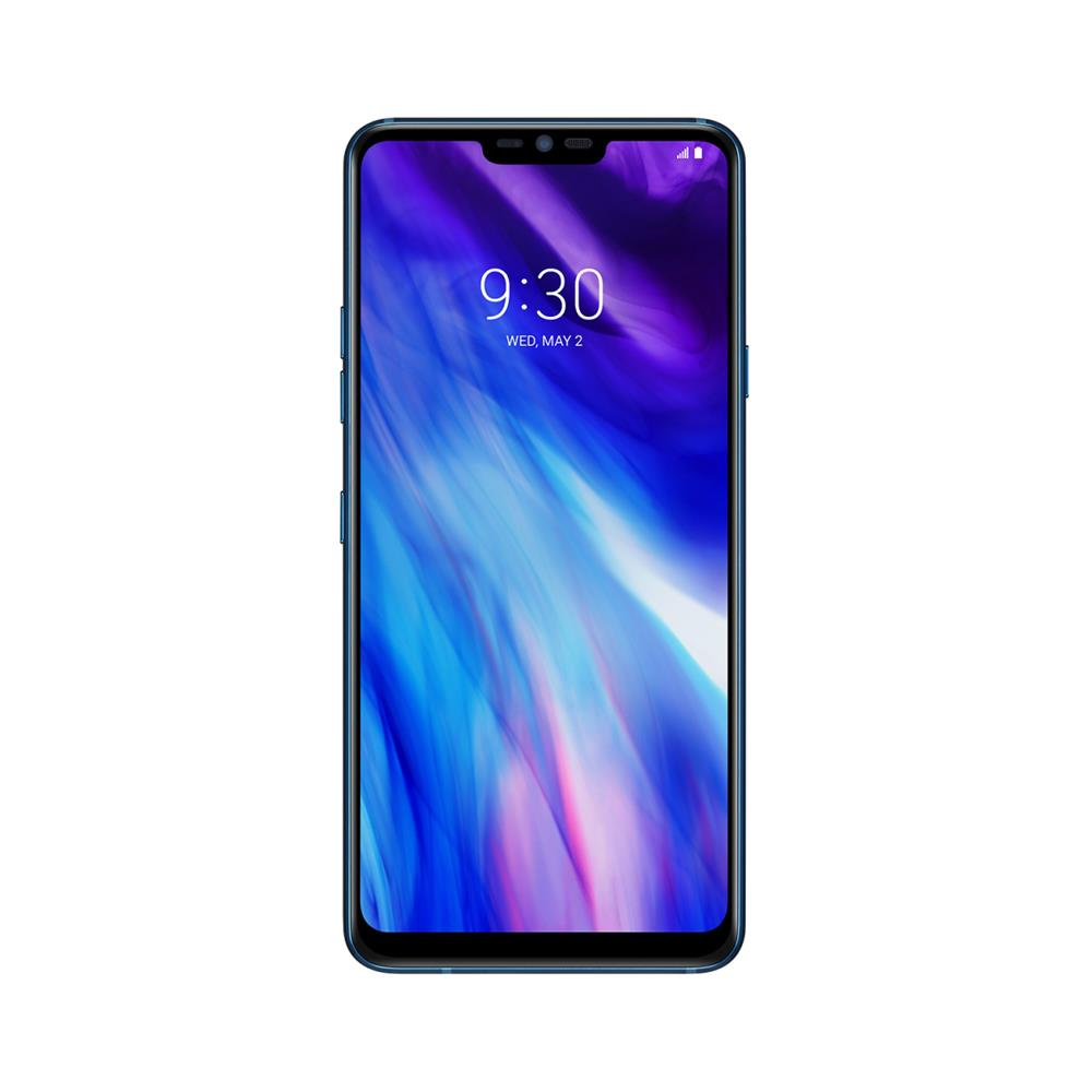 LG G7 ThinQ (64GB, Moroccan Blue, Special Import)-Smartphones (New)-Connected Devices