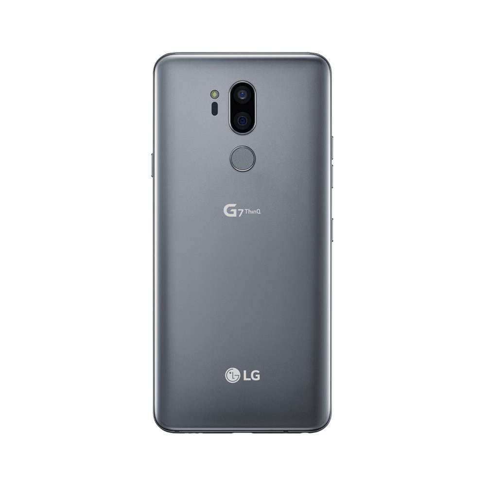 LG G7 ThinQ (64GB, Platinum Silver, Special Import)