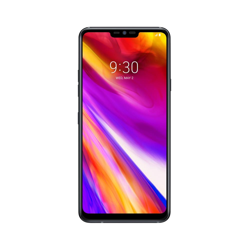 LG G7 ThinQ (64GB, Platinum Silver, Special Import)-Smartphones (New)-Connected Devices