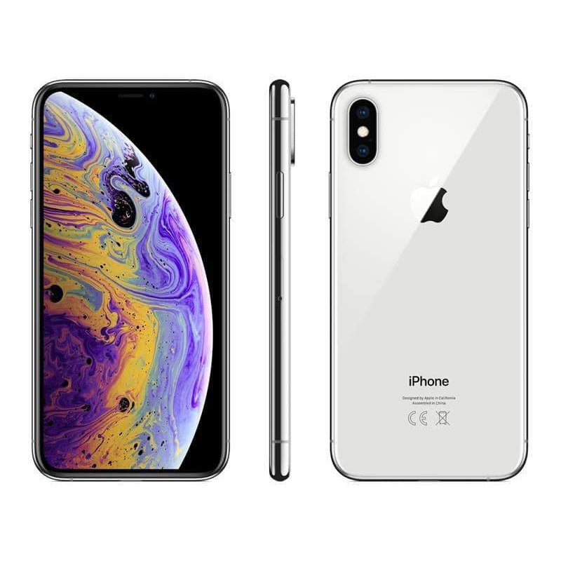 Apple iPhone Xs (64GB, Silver, Local Stock)-Smartphones (New)-Connected Devices