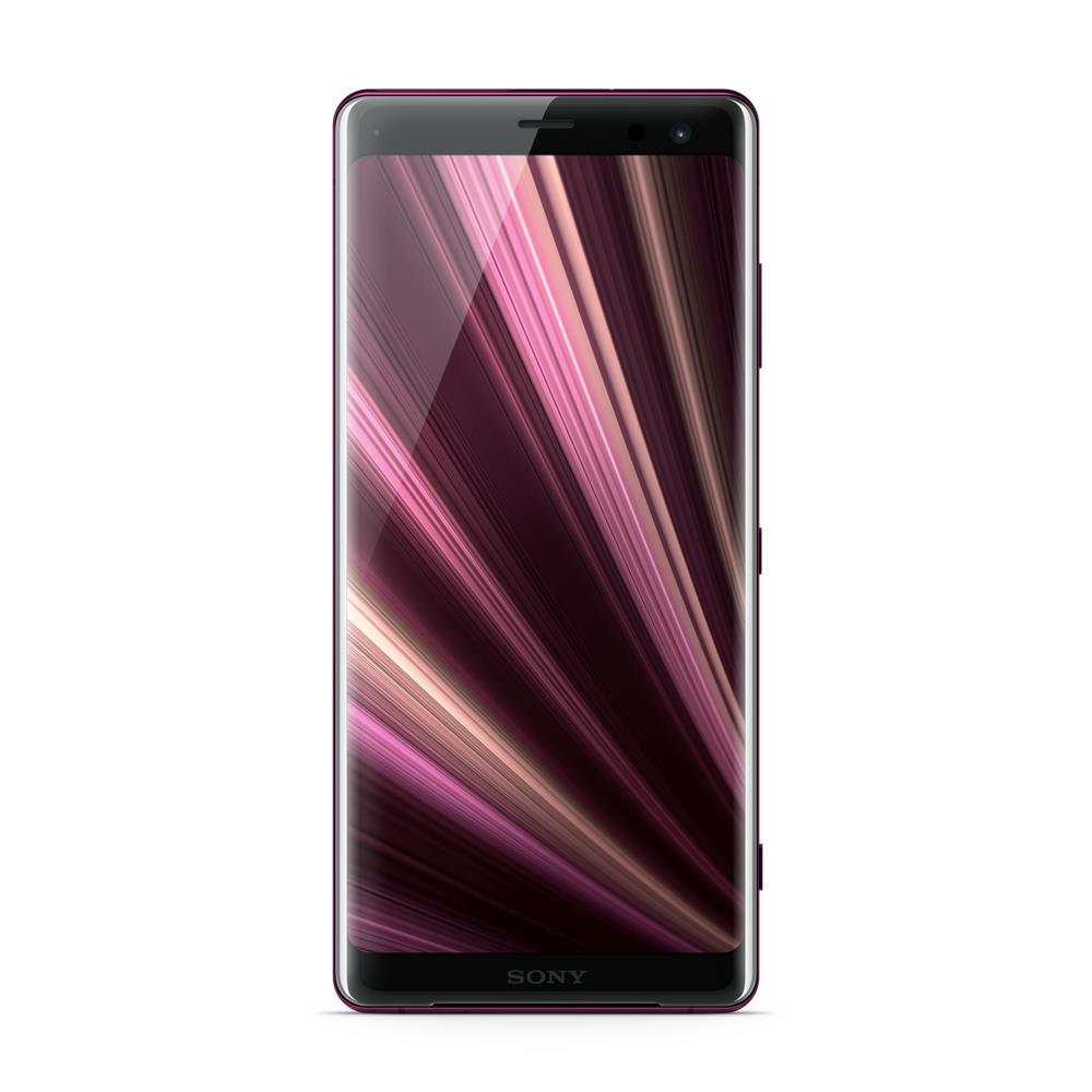 Sony Xperia XZ3 (64GB, Bordeaux Red, Dual Sim, Special Import)