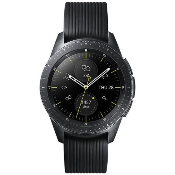 Samsung Galaxy Watch 42mm (Pre-Owned, Black, Special Import)