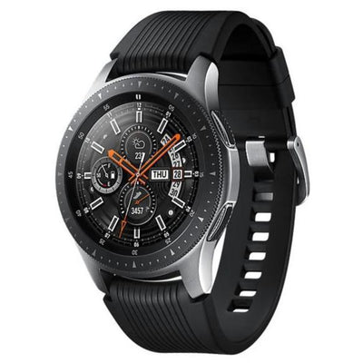 Samsung Galaxy Watch 46mm (Silver, Special Import)-Wearables (New)-Connected Devices