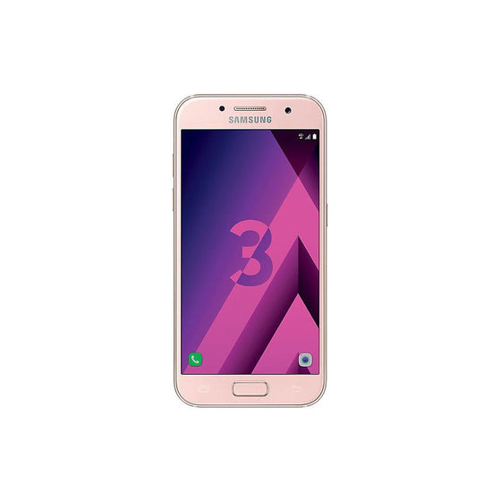 Samsung Galaxy A3 (2017, 16GB, Pink Gold, Special Import)