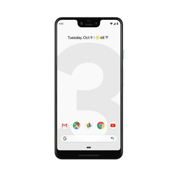 Google Pixel 3 XL (128GB, Clearly White, Special Import)
