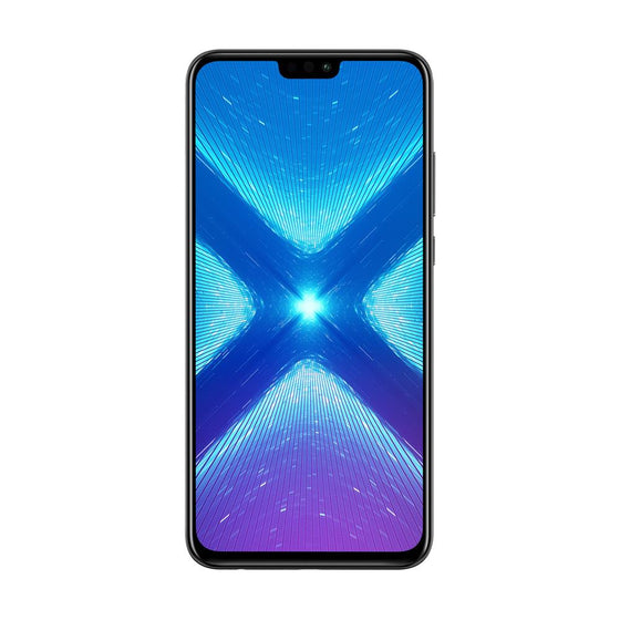 Huawei Honor 8X (128GB, Dual Sim, Black, Special Import)