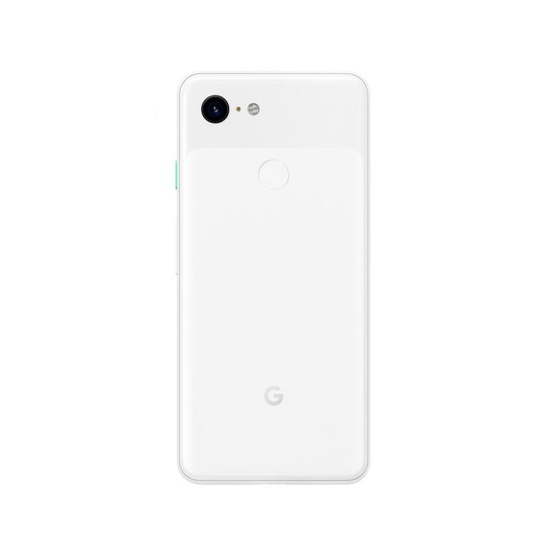 Google Pixel 3 (64GB, Clearly White, Special Import)-Smartphones (New)-Connected Devices