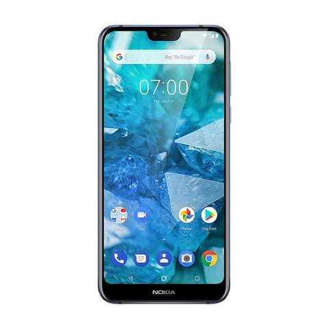 Nokia 7.1 (32GB, Blue, Single Sim, Special Import)