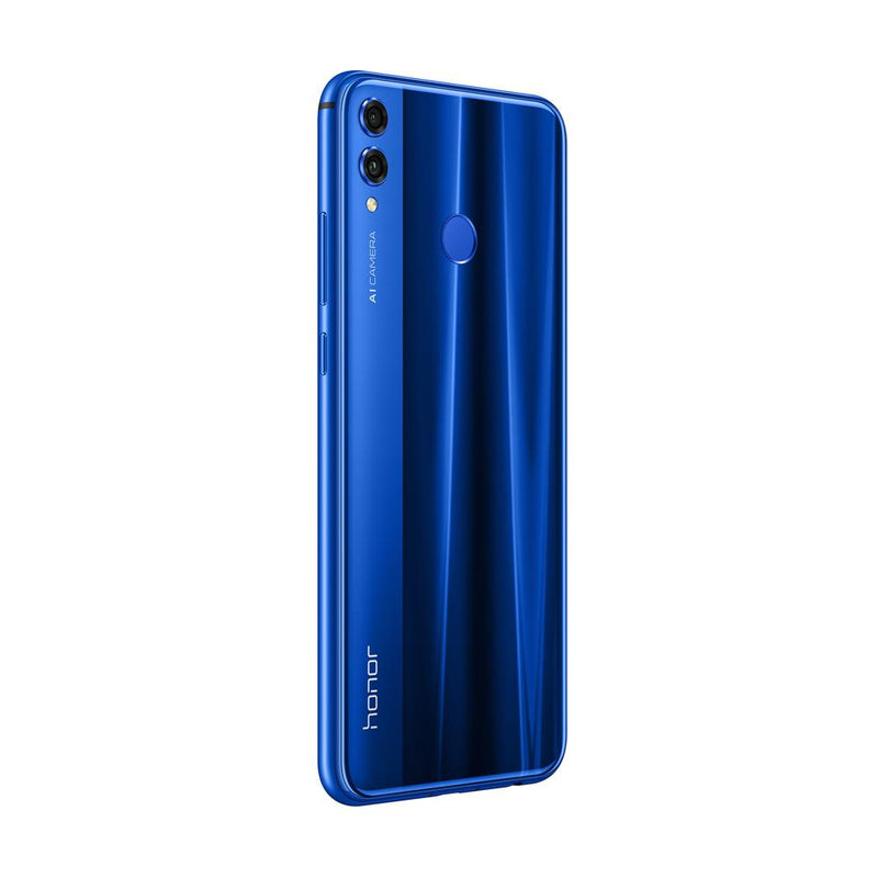 Huawei Honor 8X (128GB, Dual Sim, Blue, Special Import)-Smartphones (New)-Connected Devices