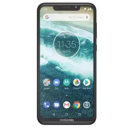 Motorola Moto One (64GB, Dual Sim, White, Special Import)-Smartphones (New)-Connected Devices