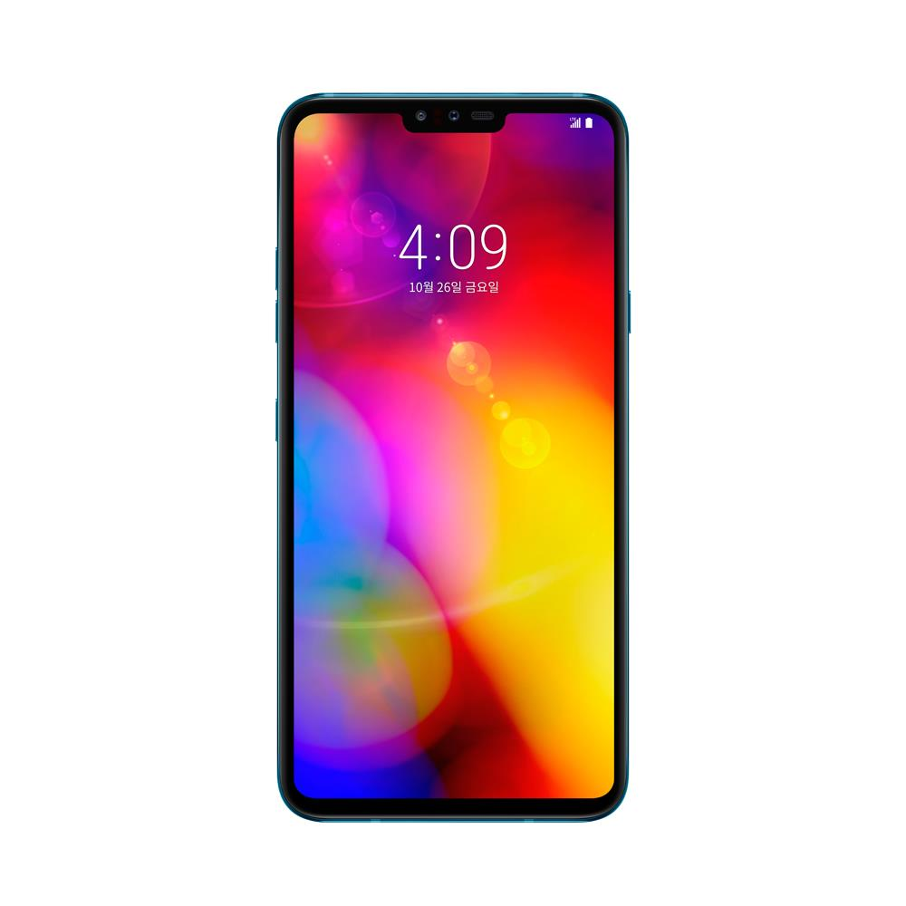 LG V40 ThinQ (128GB, Moroccan Blue, Special Import)-Smartphones (New)-Connected Devices