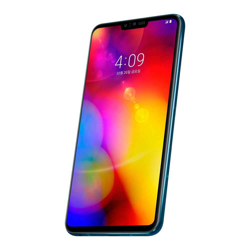LG V40 ThinQ (128GB, Moroccan Blue, Special Import)