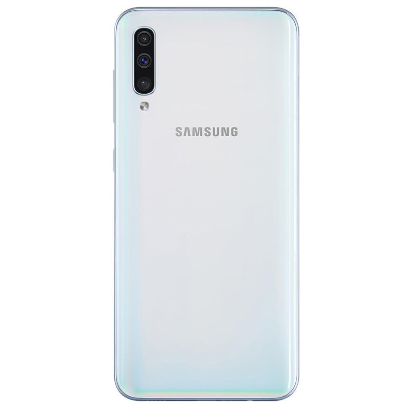 Samsung Galaxy A50 (128GB, Dual Sim, White, Special Import)-Smartphones (New)-Connected Devices