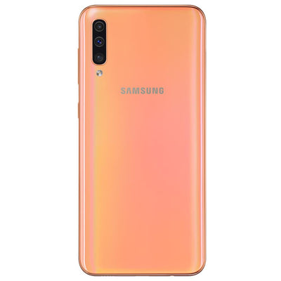 Samsung Galaxy A50 (128GB, Dual Sim, Coral, Special Import)-Smartphones (New)-Connected Devices