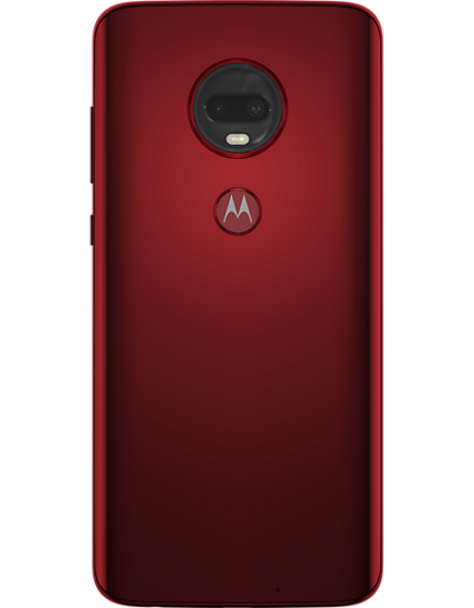 Motorola G7 Plus (64GB, Dual Sim, Viva Red, Special Import)-Smartphones (New)-Connected Devices