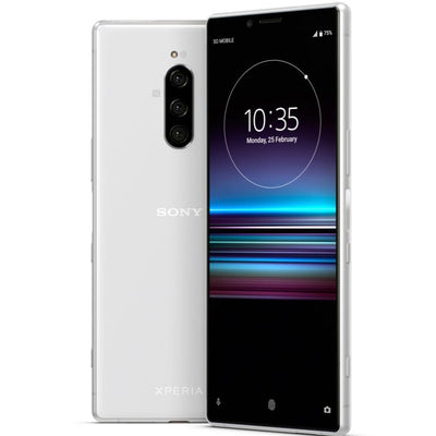 Sony Xperia 1 (128GB, Dual Sim, White, Special Import)