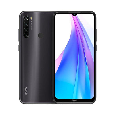 Xiaomi Redmi Note 8T (64GB, Dual Sim, Grey, Special Import)-Smartphones (New)-Connected Devices