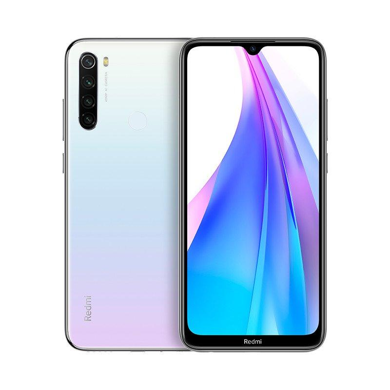 Xiaomi Redmi Note 8T (64GB, Dual Sim, White, Special Import)-Smartphones (New)-Connected Devices