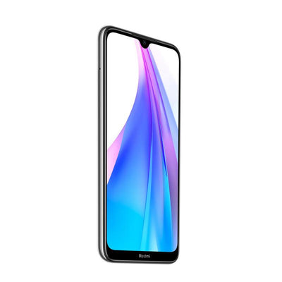 Xiaomi Redmi Note 8T (128GB, Dual Sim, White, Special Import)-Smartphones (New)-Connected Devices